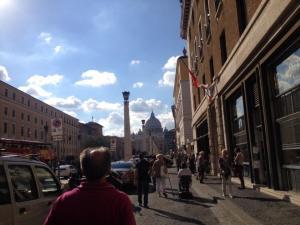 St Peter's bacilica in Vatican City