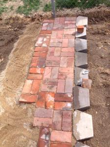a few bricks down, a million to go