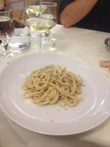 cacio e pepe...favorite Italian meal. So simple, but so delicious!
